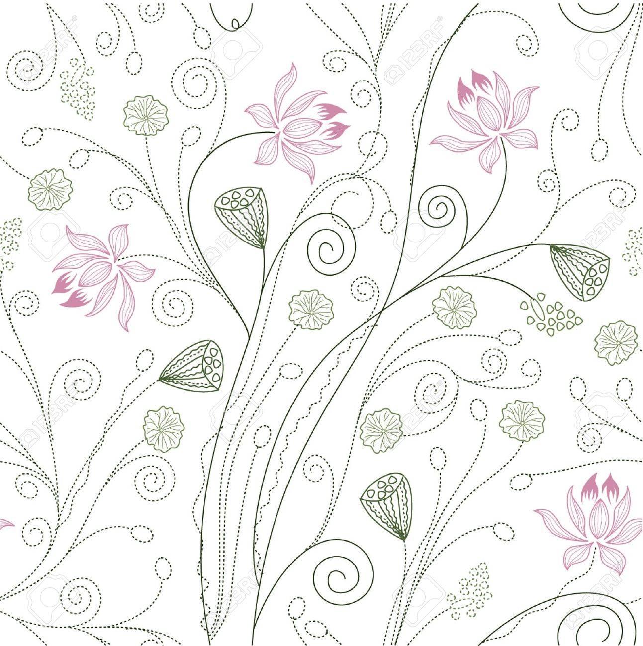 Flower pattern Stock Vector - 14906535