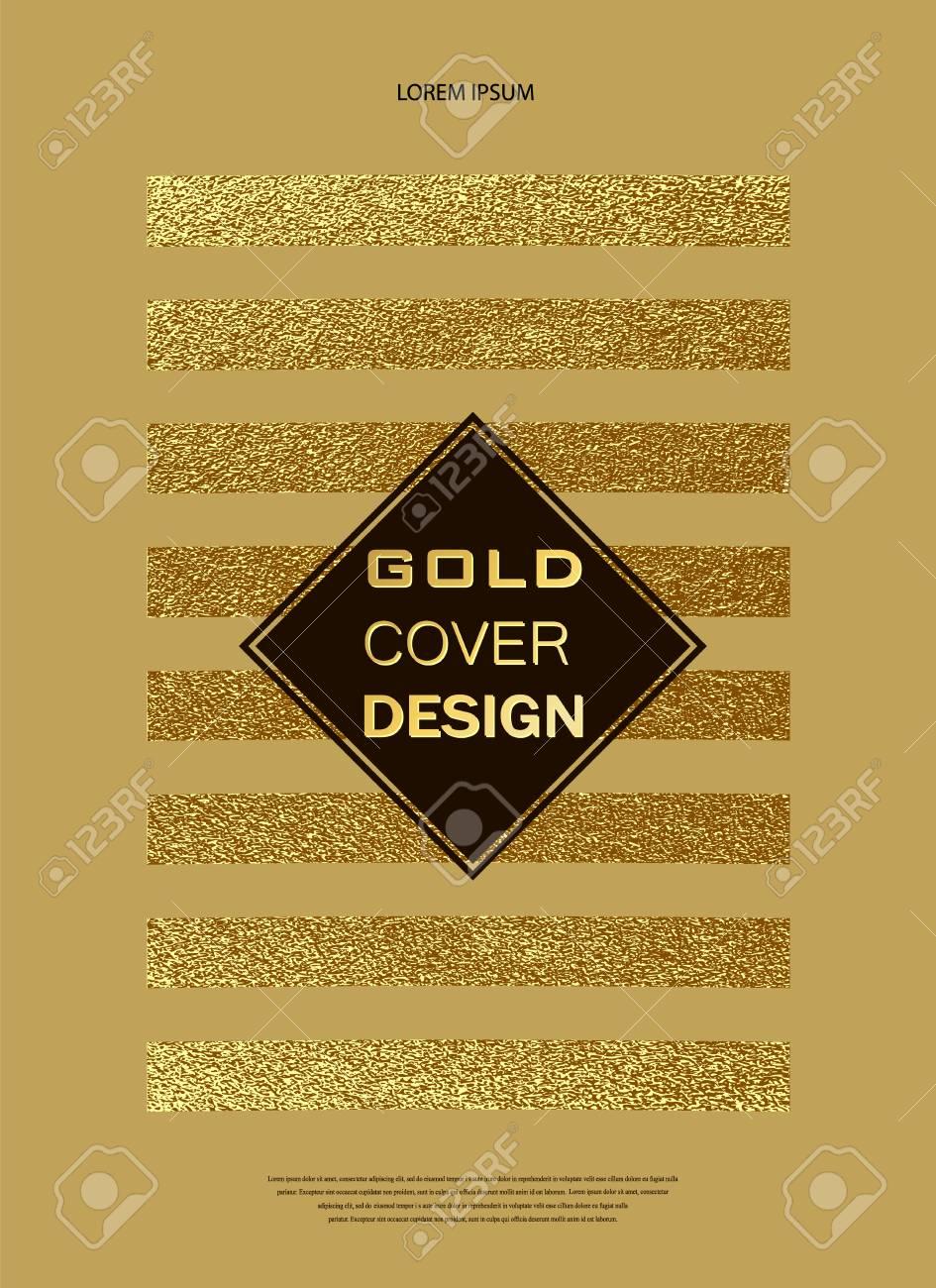 gold glitter sparkles design pattern for brochures invitation