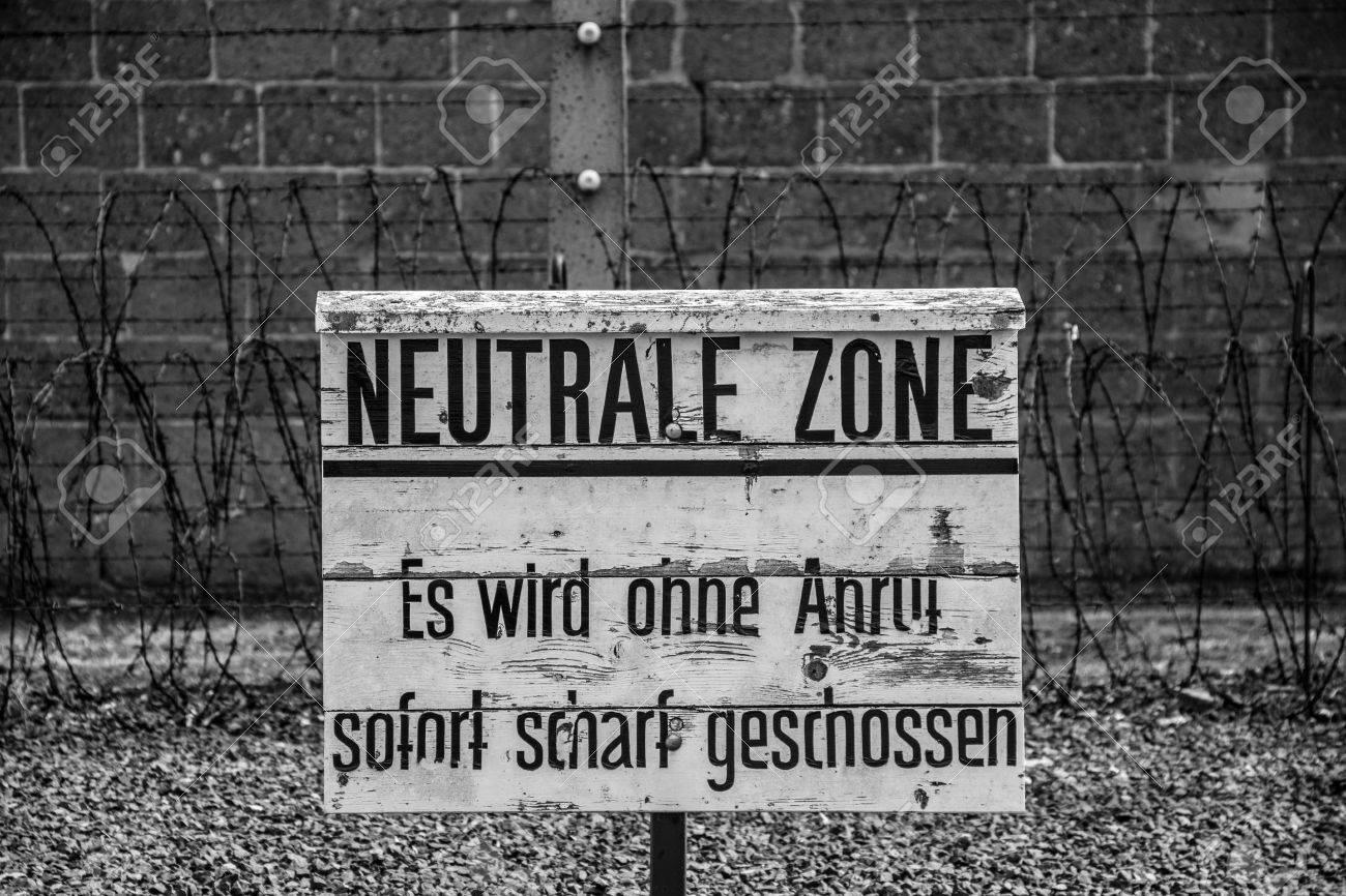 ザクセンハウゼン強制収容所で危...