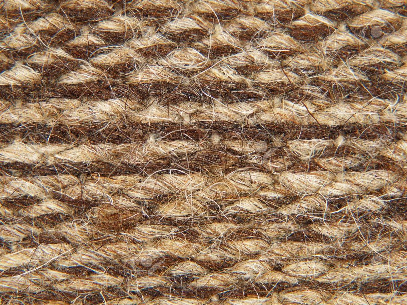 Rough Knit Camel Wool Fabric Texture Pattern Taken Closeup As ...