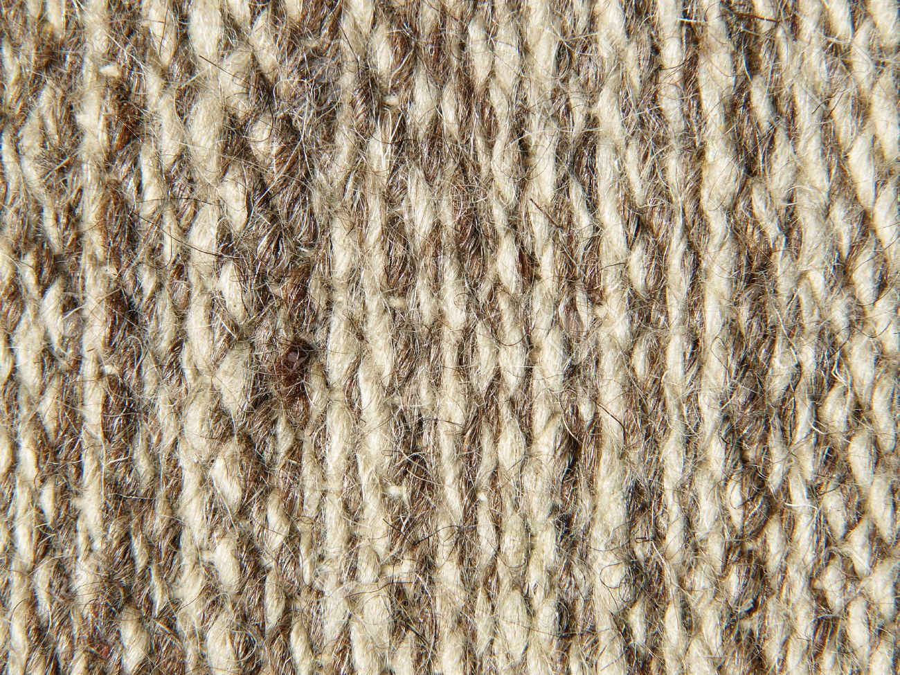 Rough Knit Camel Wool Fabric Texture Pattern As Background. Stock ...