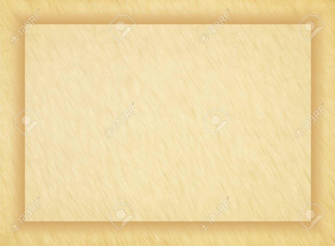 Rectangular Empty Old Papyrus Photo Frame Stock Photo, Picture And ...