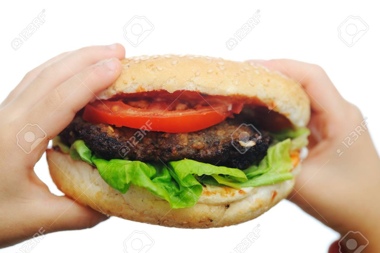 hamburger Stock Photo - 6642599
