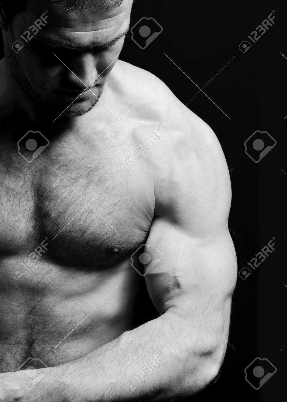 Young man in pose Stock Photo - 7012105