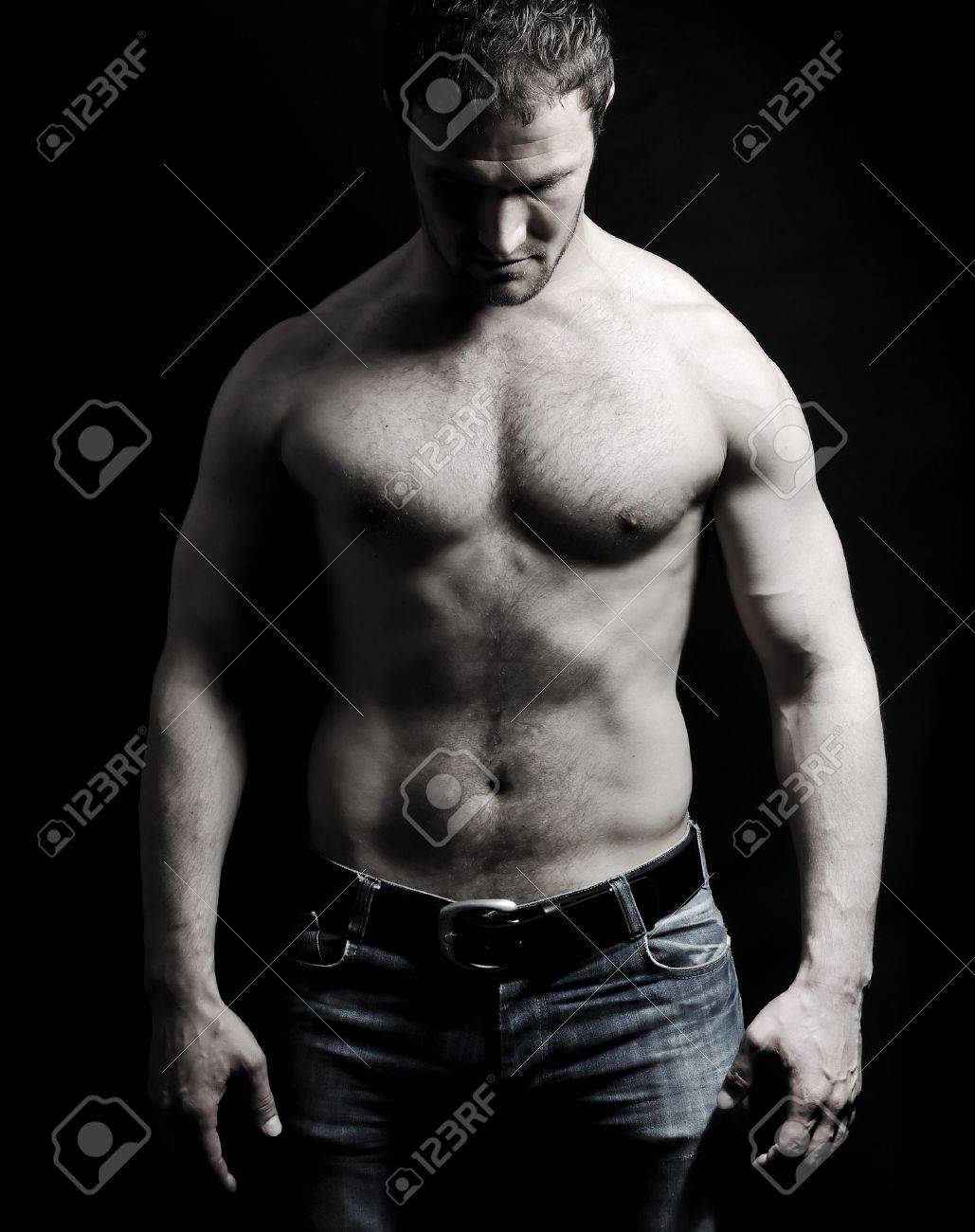 Strong man with a helthy body Stock Photo - 7012046
