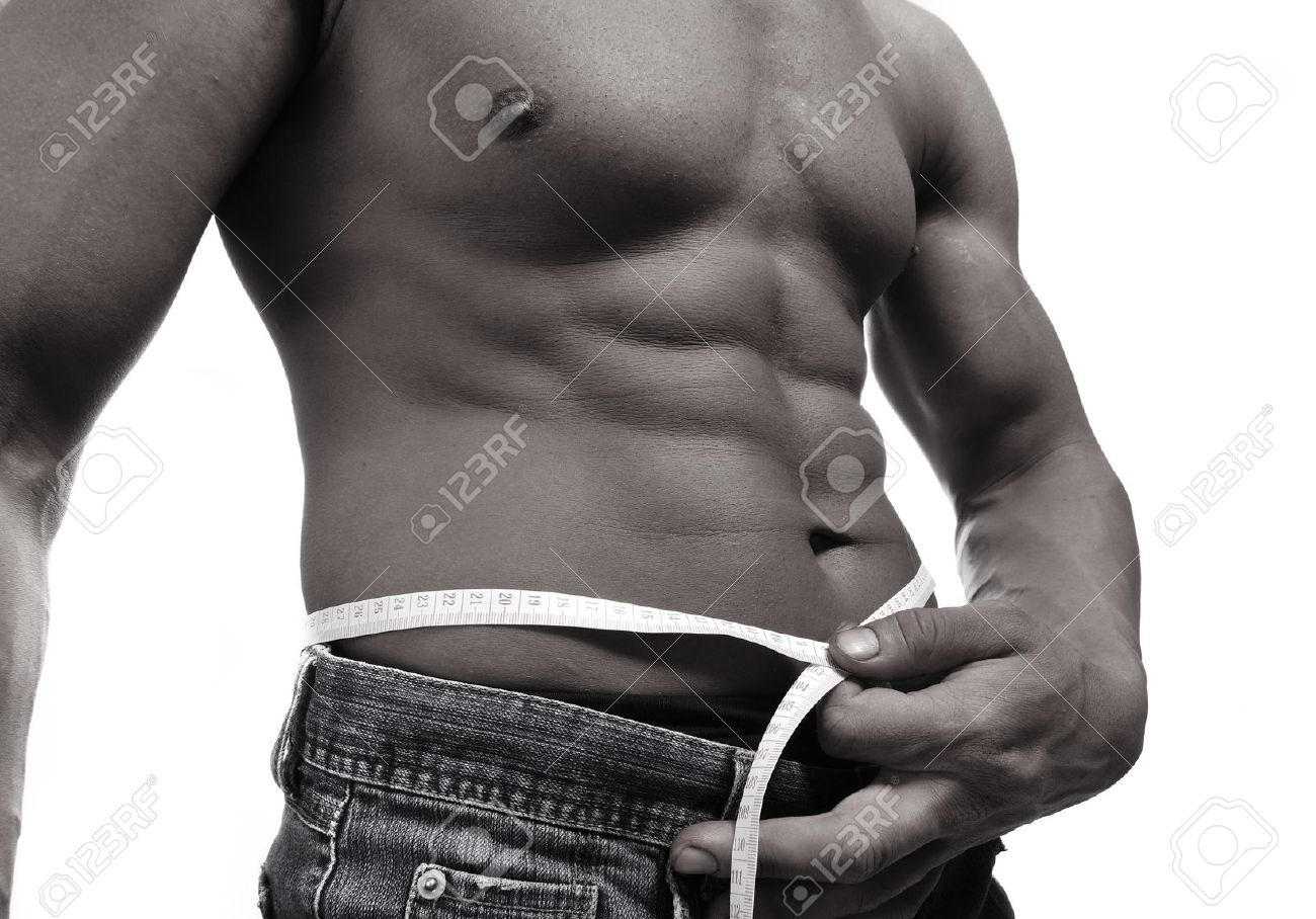 Strong man with a helthy body Stock Photo - 8642982