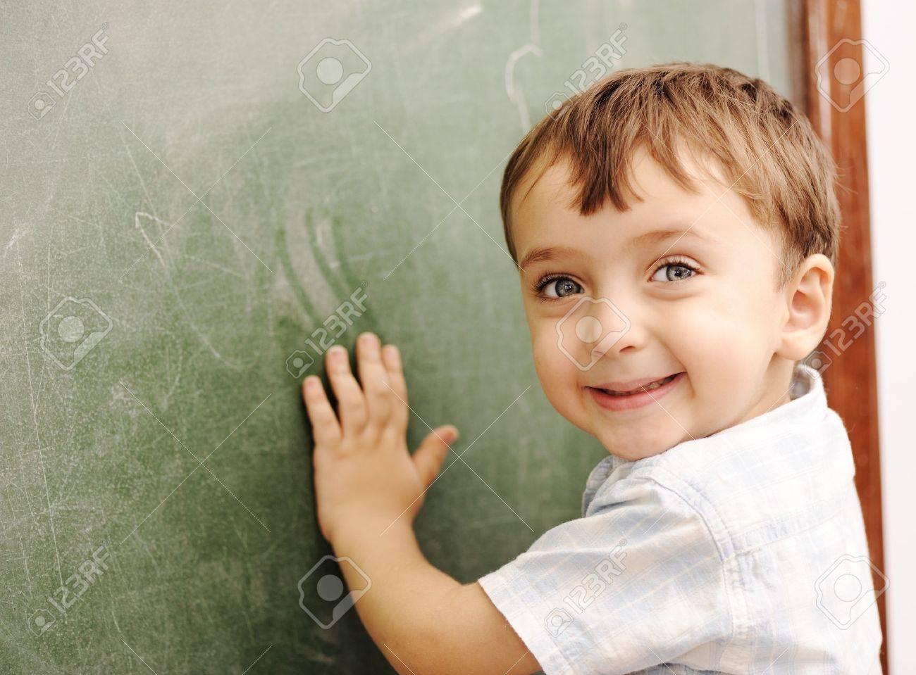 Children at school classroom Stock Photo - 14054015