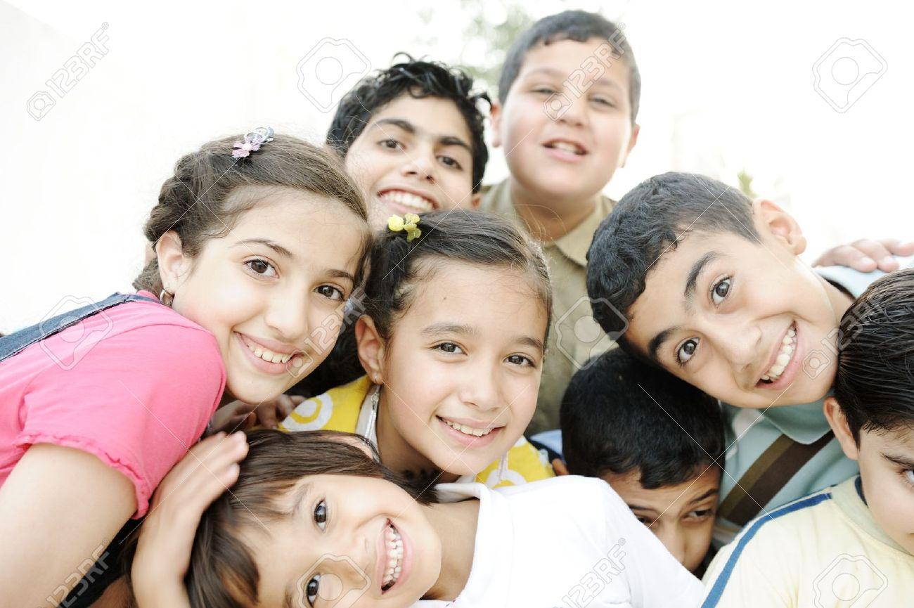 Group of happy children - 14580618