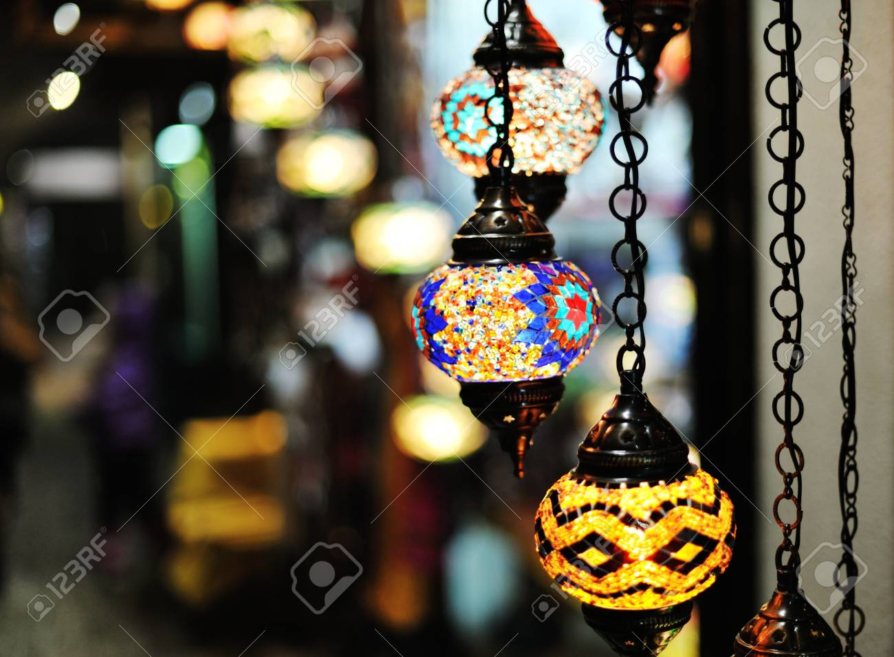Holiday decorated lights Stock Photo - 16628269