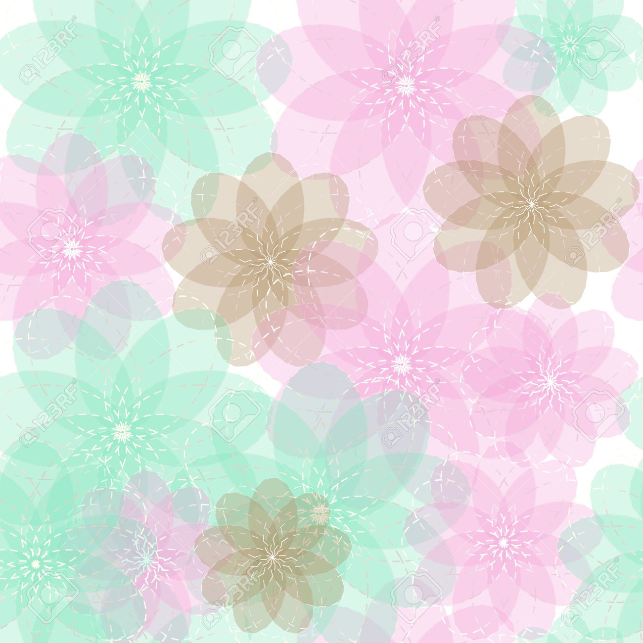 Light Repeating Background Pattern