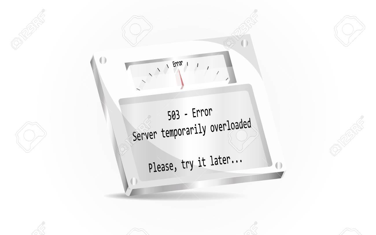 HTTP Status code 503 Service Unavailable
