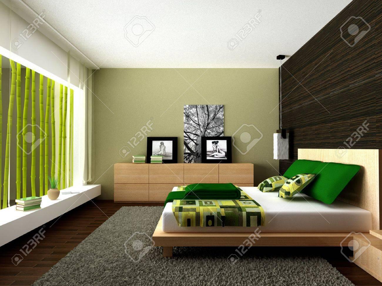 Modern bedroom - 6124990
