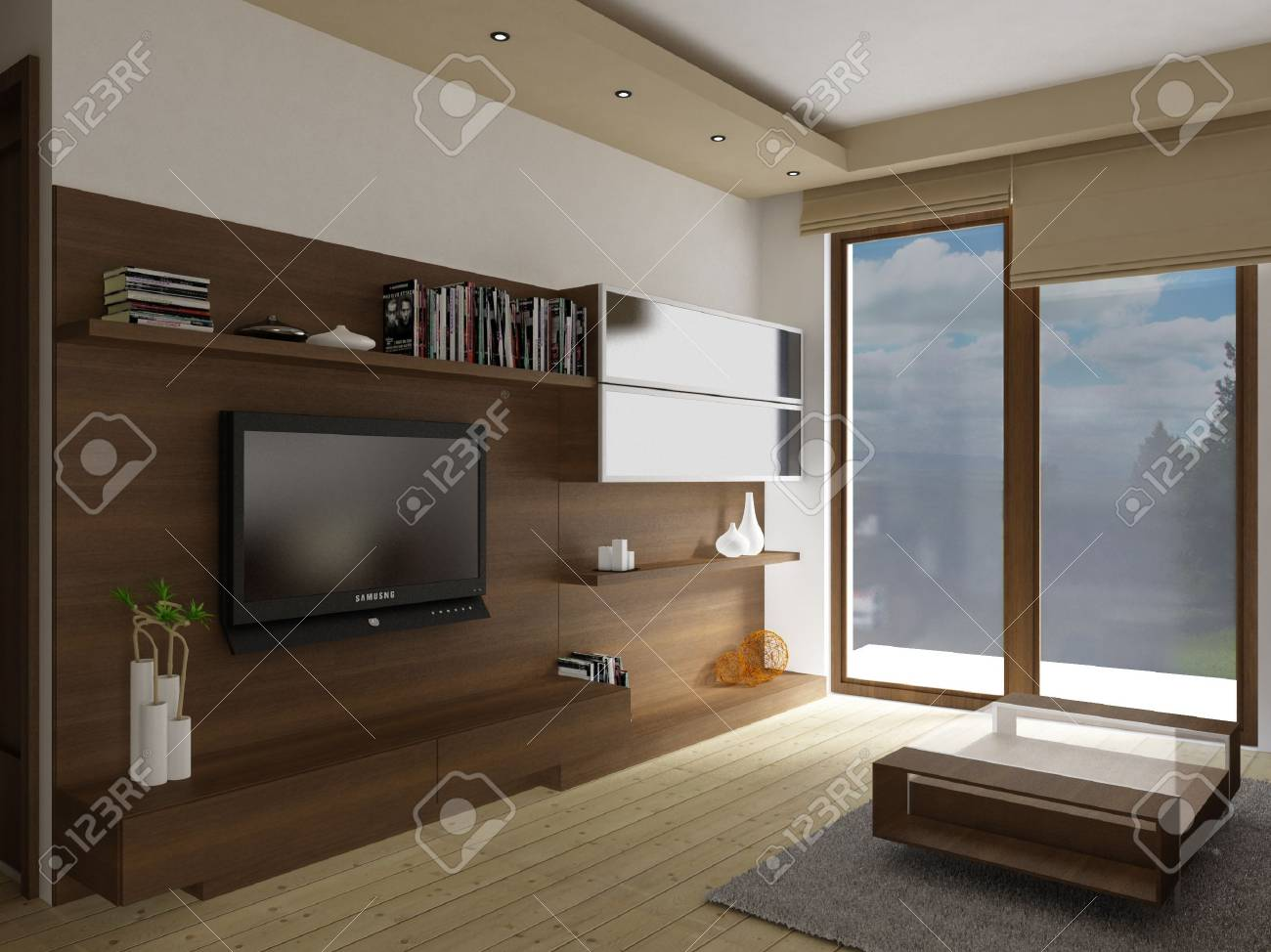 Living-room interior - 8113455