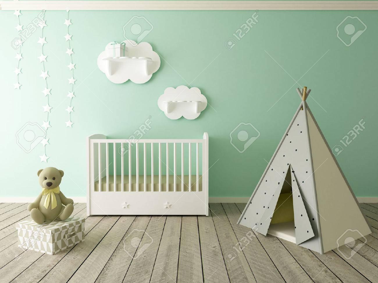 children room interior - 48682990