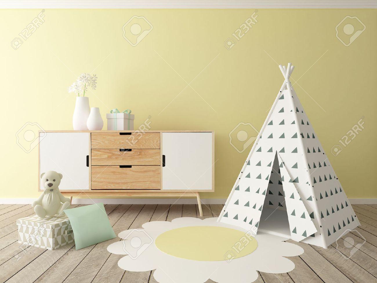 children room interior - 50406934