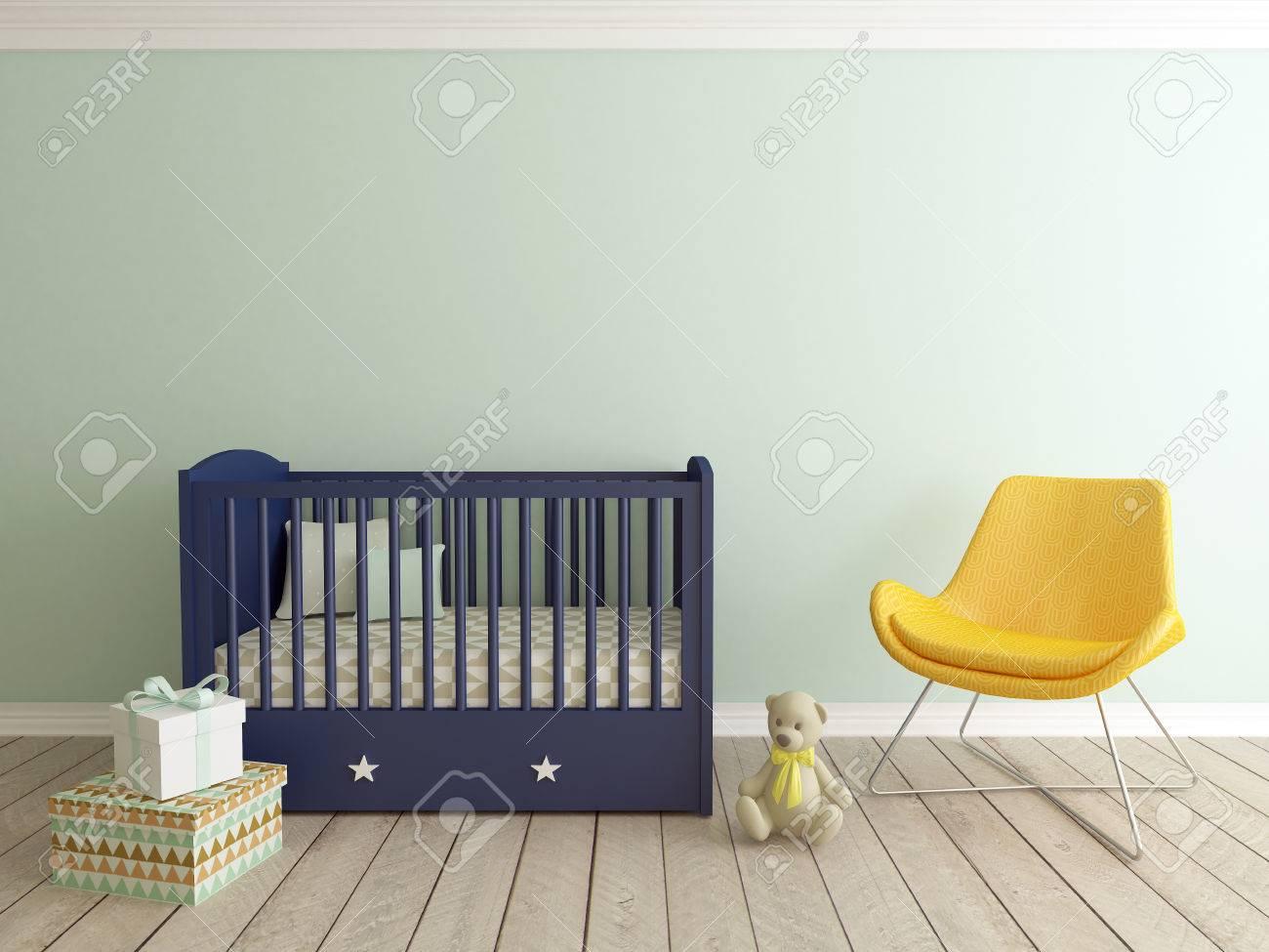 baby room interior - 70928546