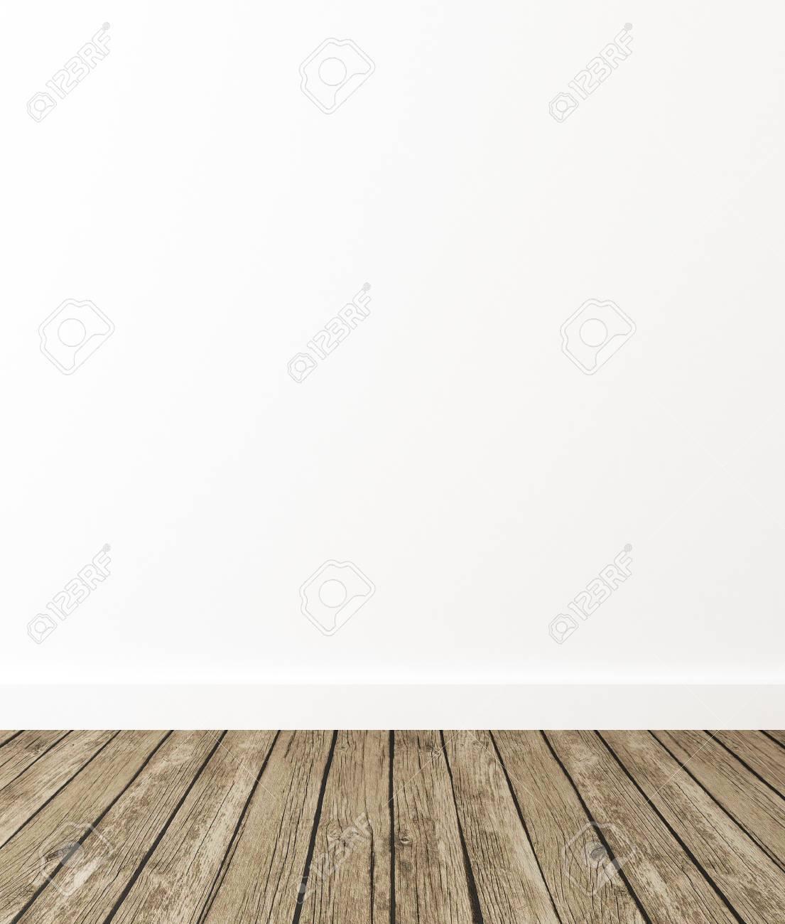 Empty Room Interior, 3d Render - 77382547