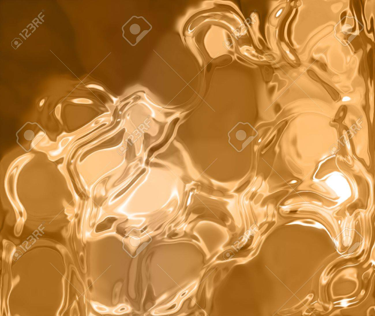 liquid gold background - elegant background Stock Photo - 7230064