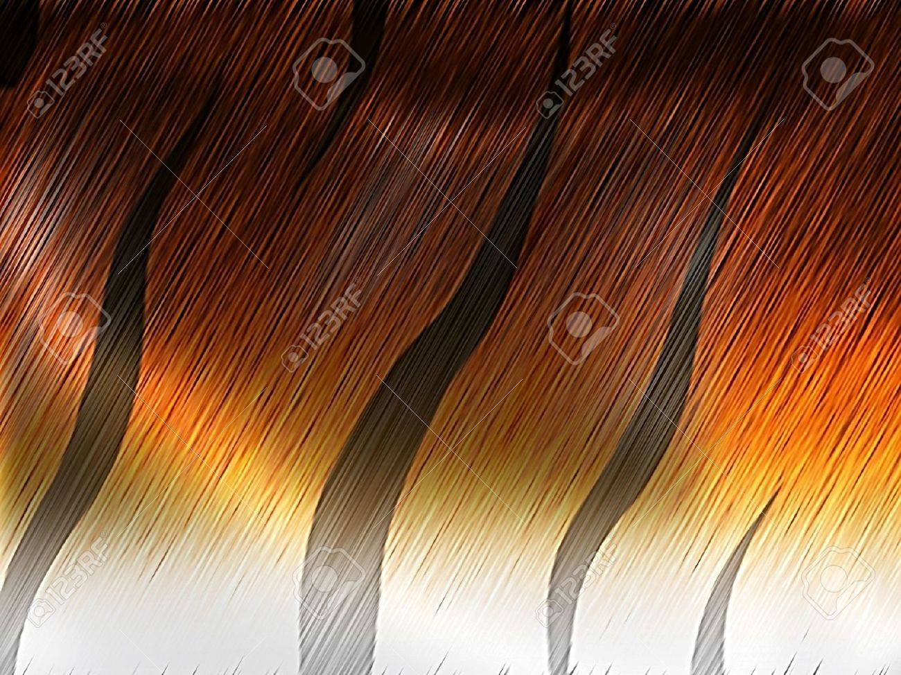 tiger fur - computer generated  for your projects Stock Photo - 7362283