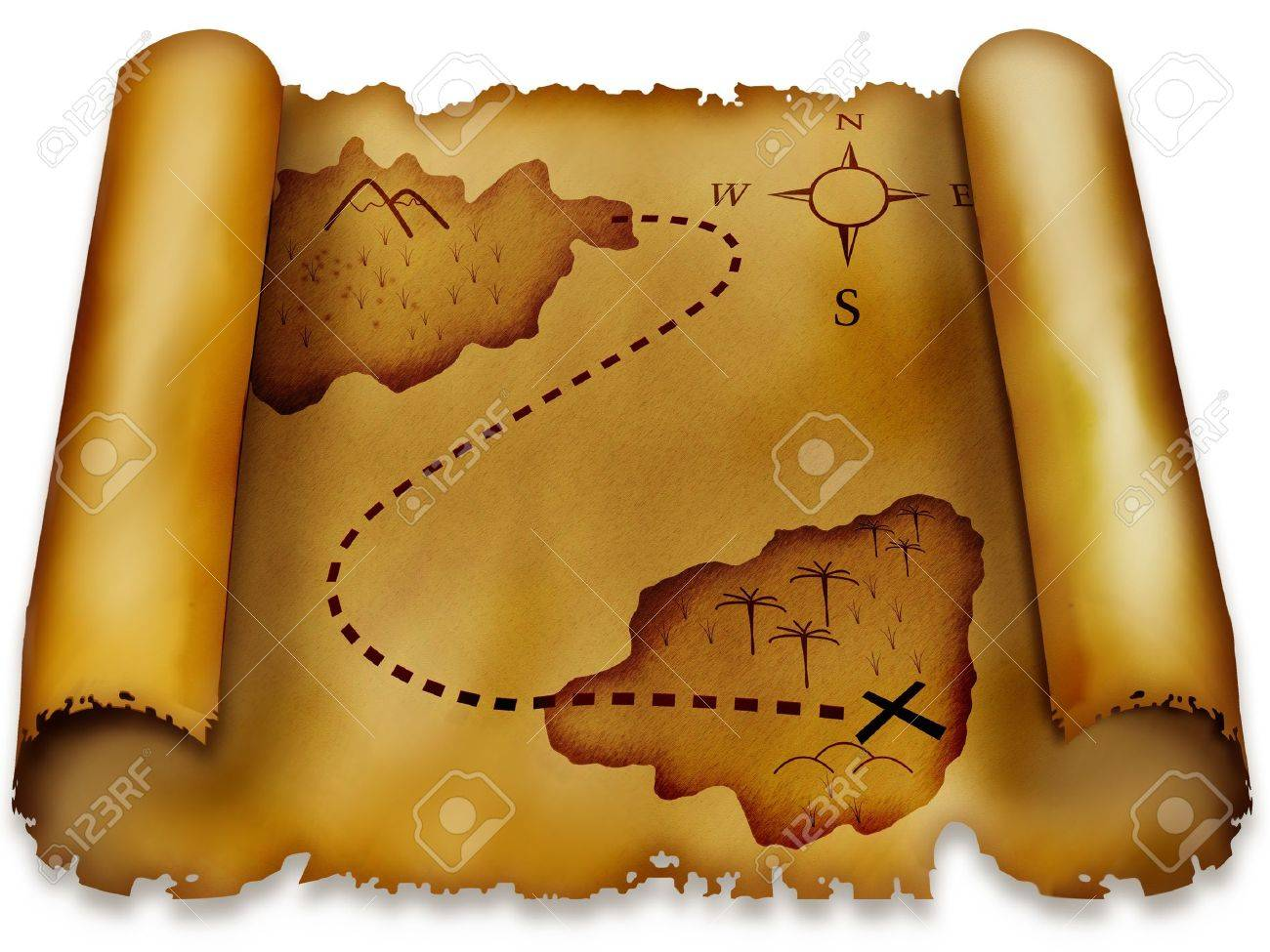 2 902 treasure map background stock illustrations cliparts and