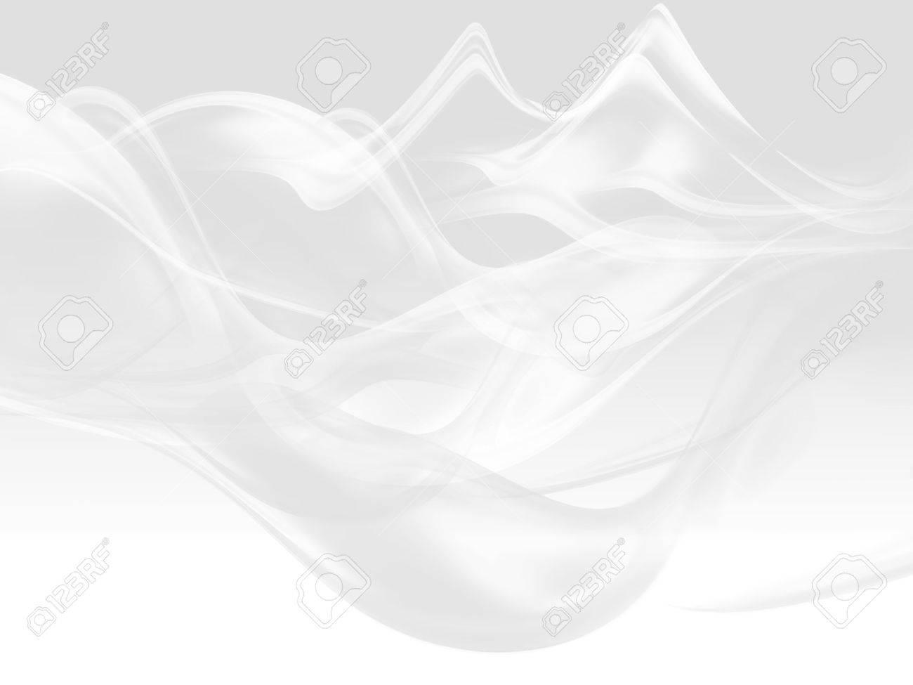 abstract white background with smooth lines Stock Photo - 22497569