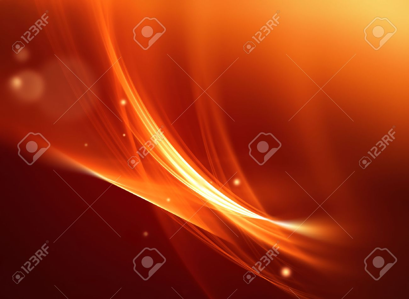 abstract fire background with smooth soft lines - 48540166