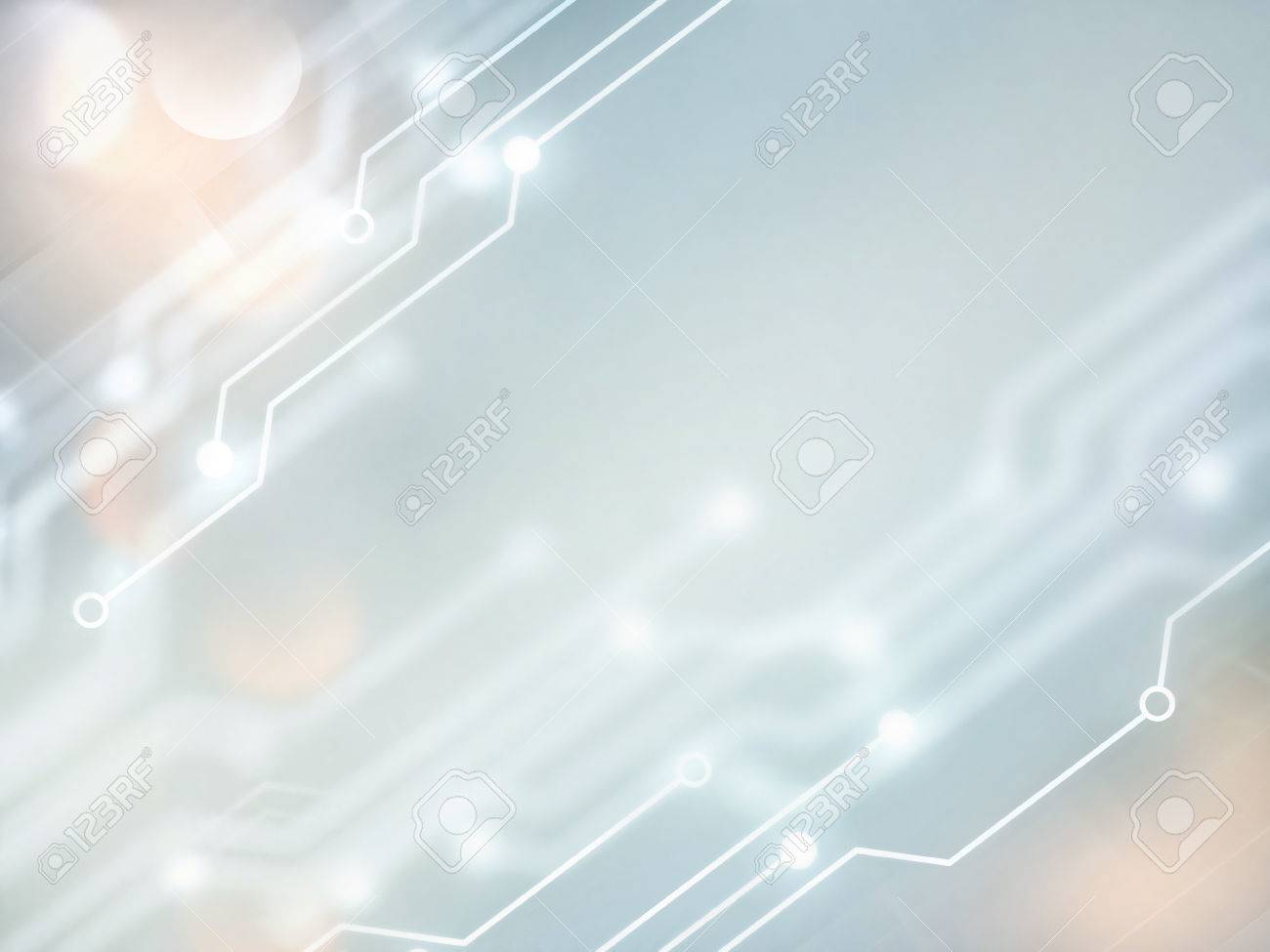 Abstract high tech background in white and gray tones - 54795590