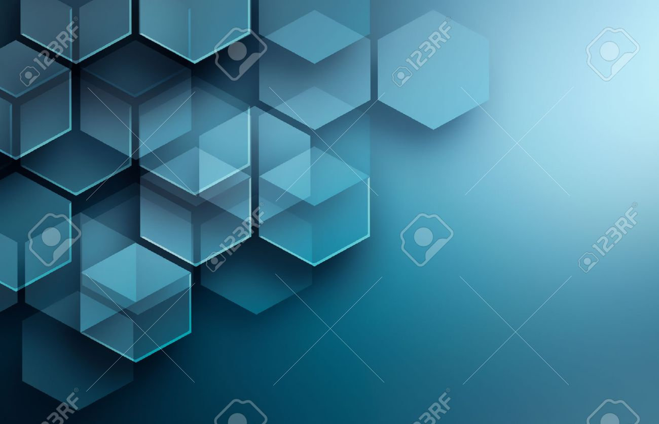 Abstract high tech background in blue tones - 54795603