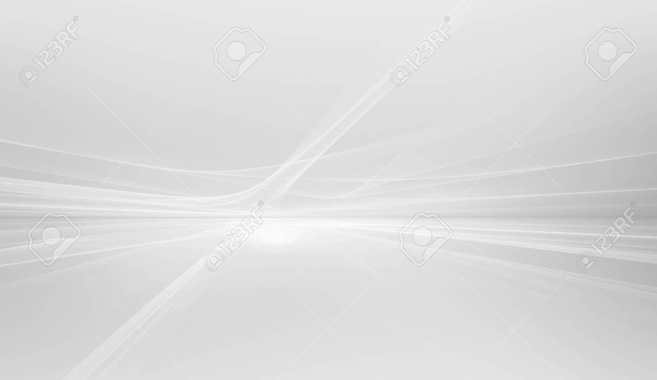 white futuristic background - 152179321