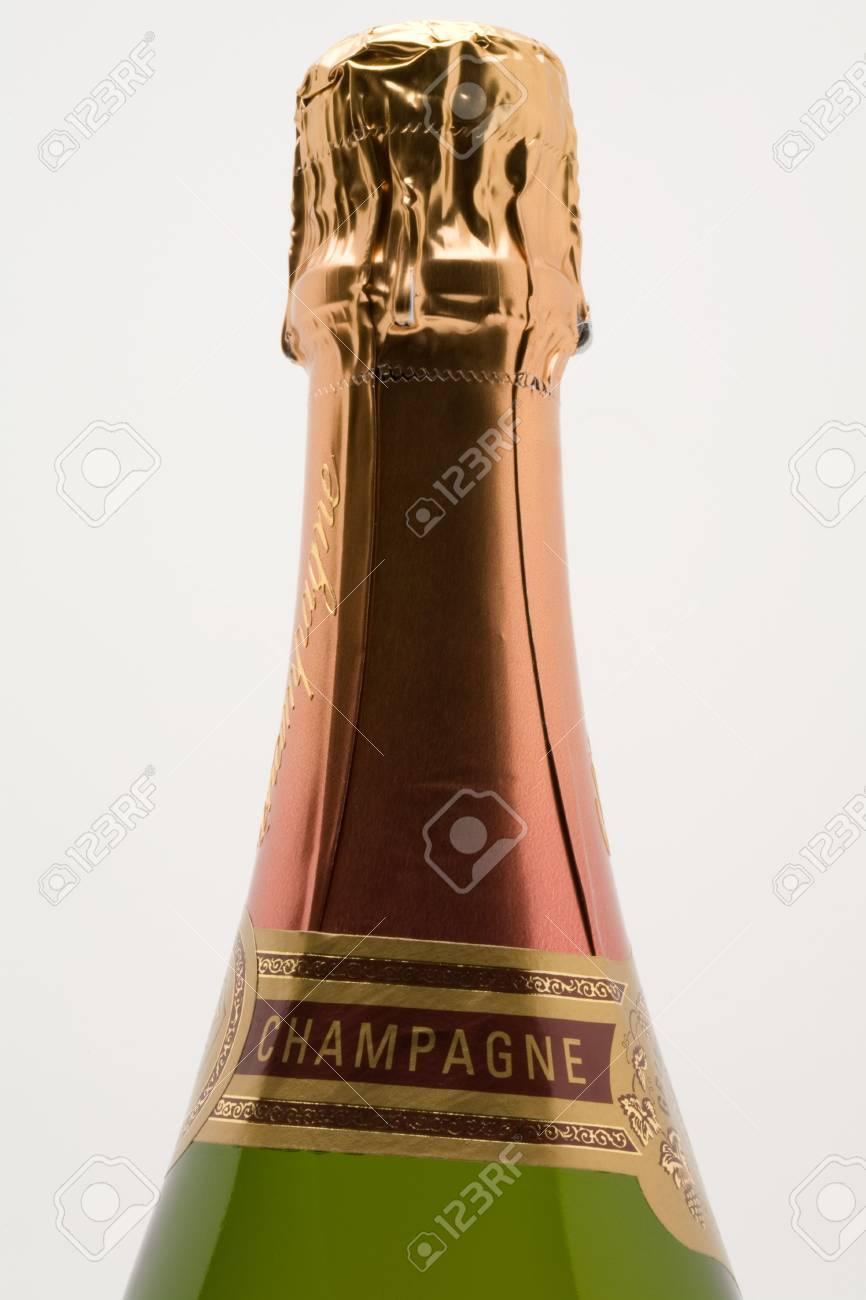 champagne bottle closeup Stock Photo - 3070717