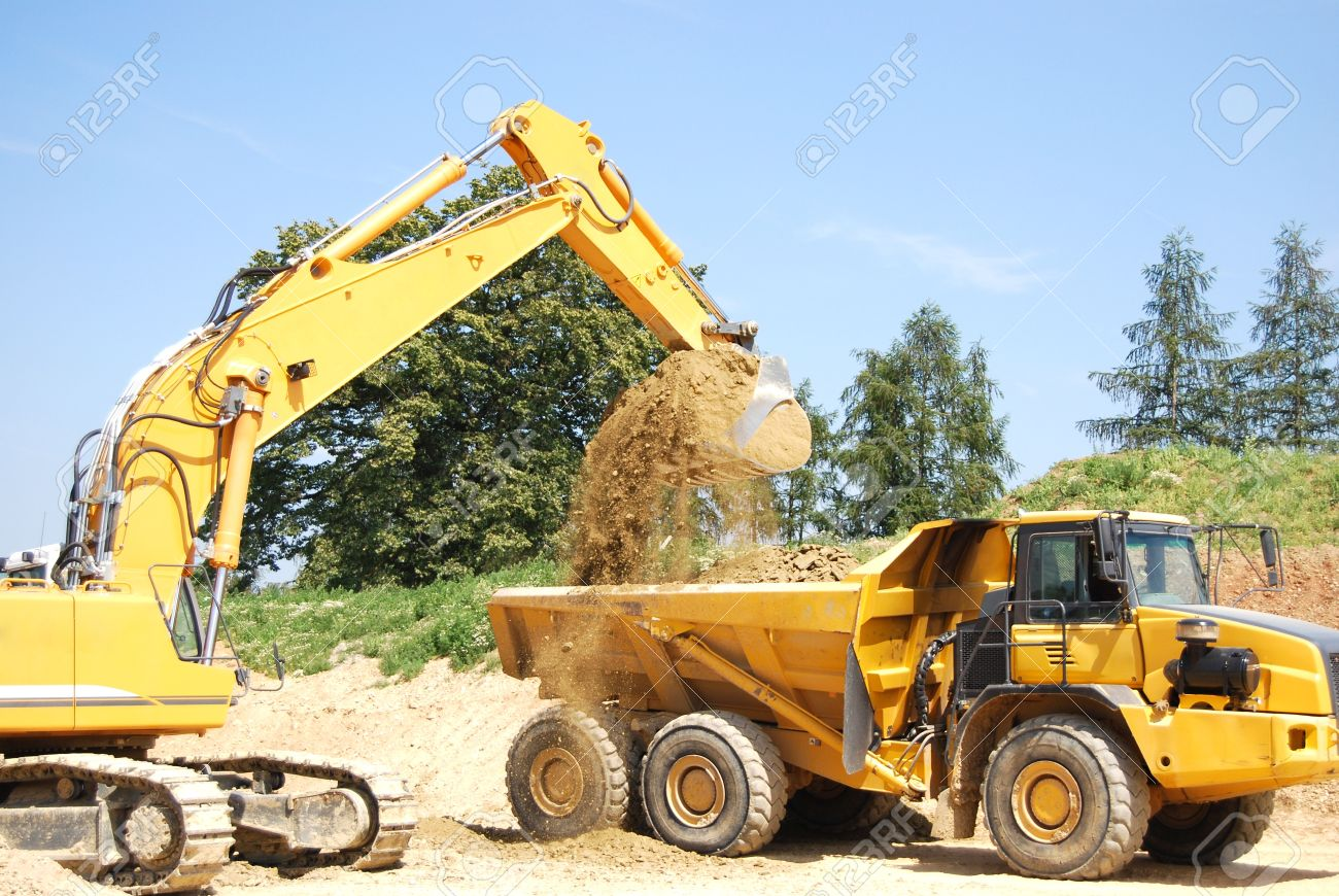 image gallery lorries and diggers