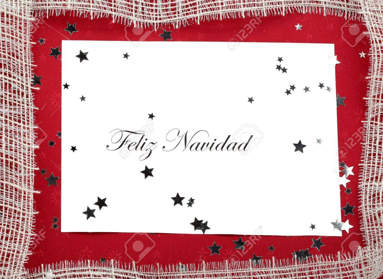 Spanish Christmas Card Stock Photo, Picture And Royalty Free Image ...