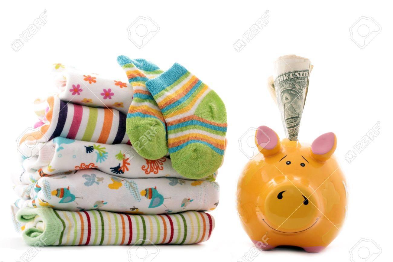 Huchas Para Bebes.Ropa Para Bebes Y Una Hucha