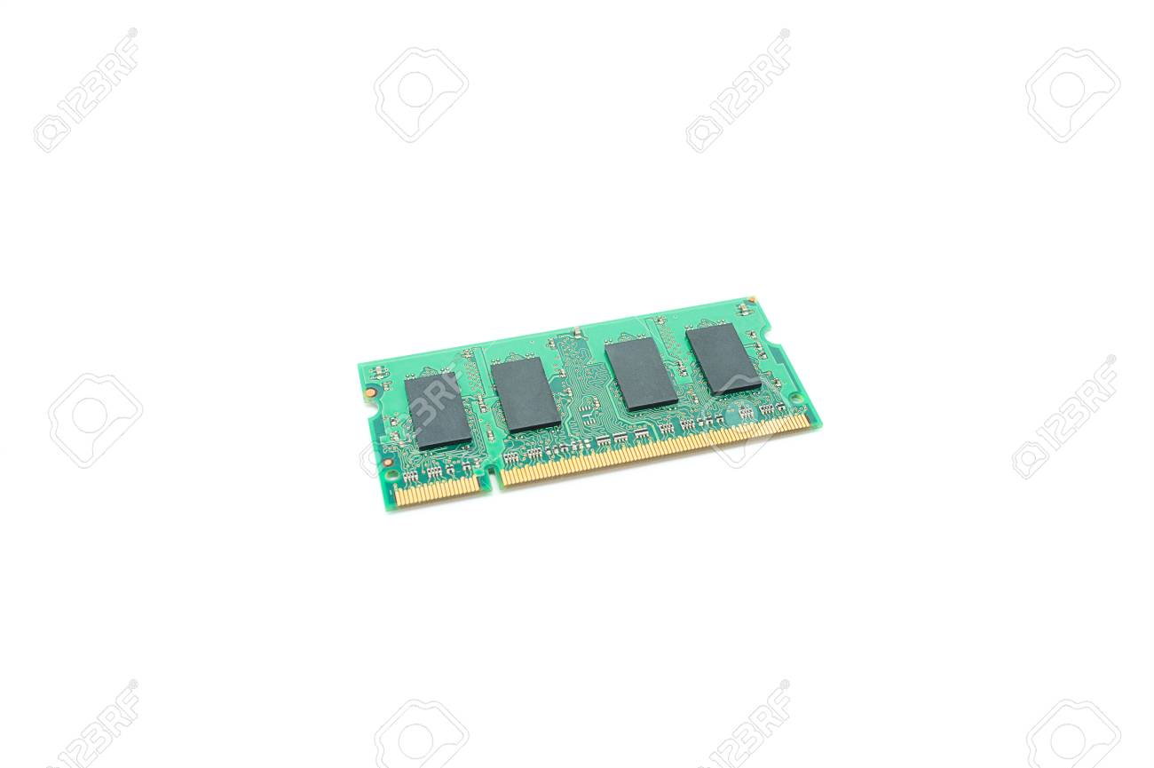 Memory chip for mini computers Stock Photo - 13344870