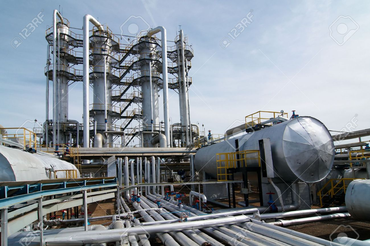gas processing industry Stock Photo - 5462346