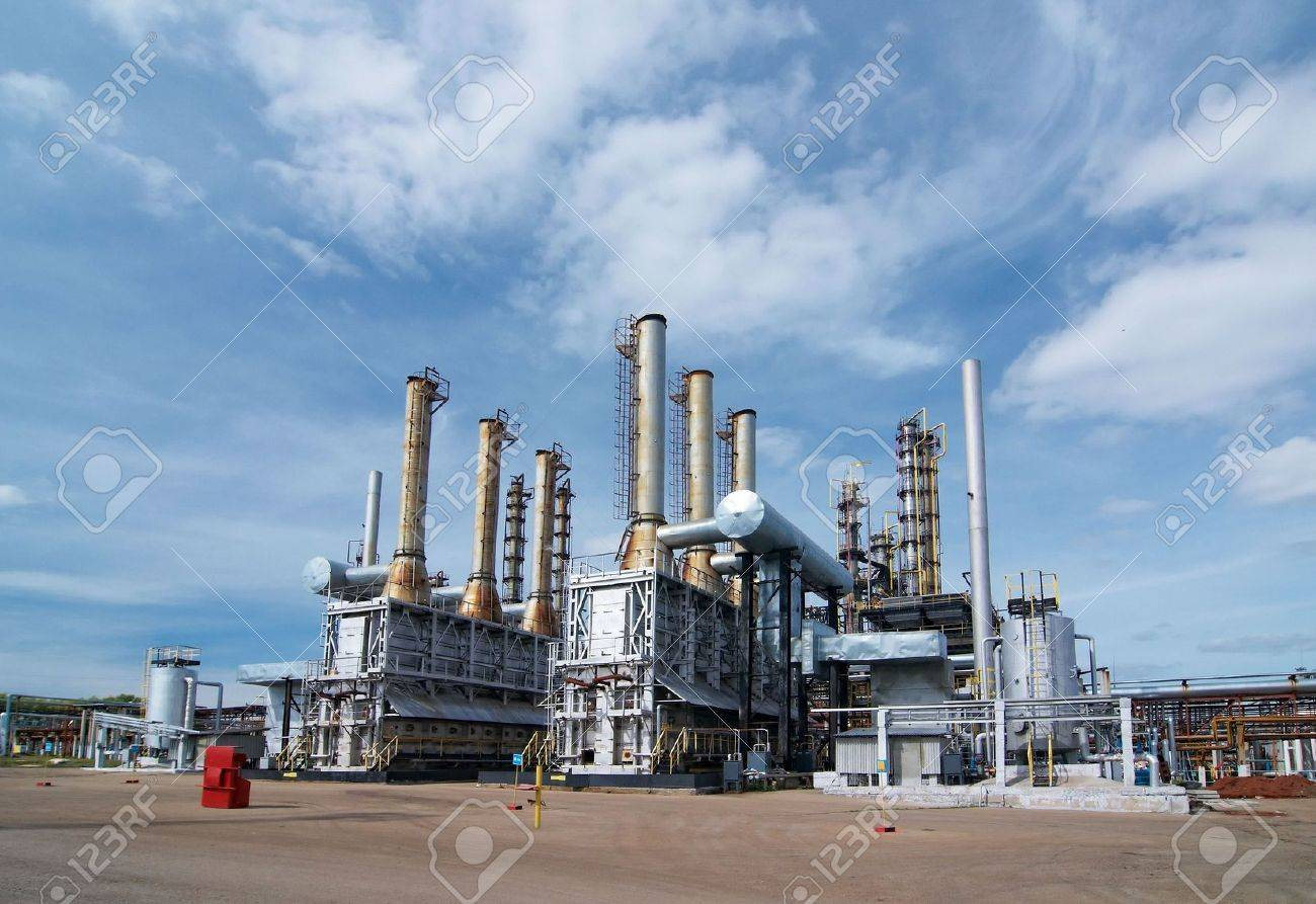 Gas industry Stock Photo - 5462341