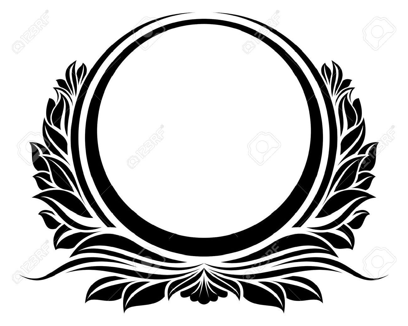 Circle Frame Png Circle Frame Black Circle