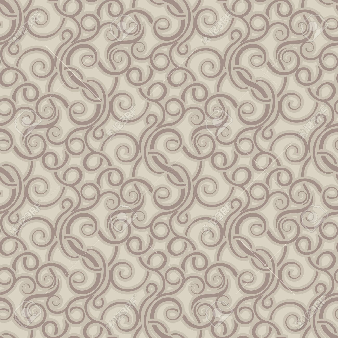 Curtain Texture Seamless brown seamless wallpaper pattern royalty free cliparts, vectors