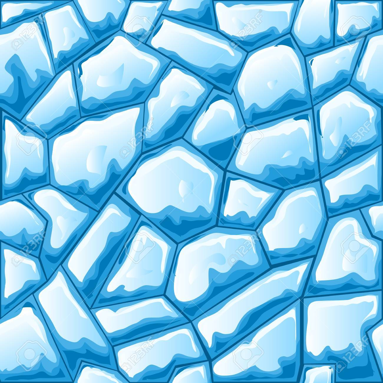 blue ice brick seamless pattern royalty free cliparts vectors and stock illustration image 52566700 123rf com