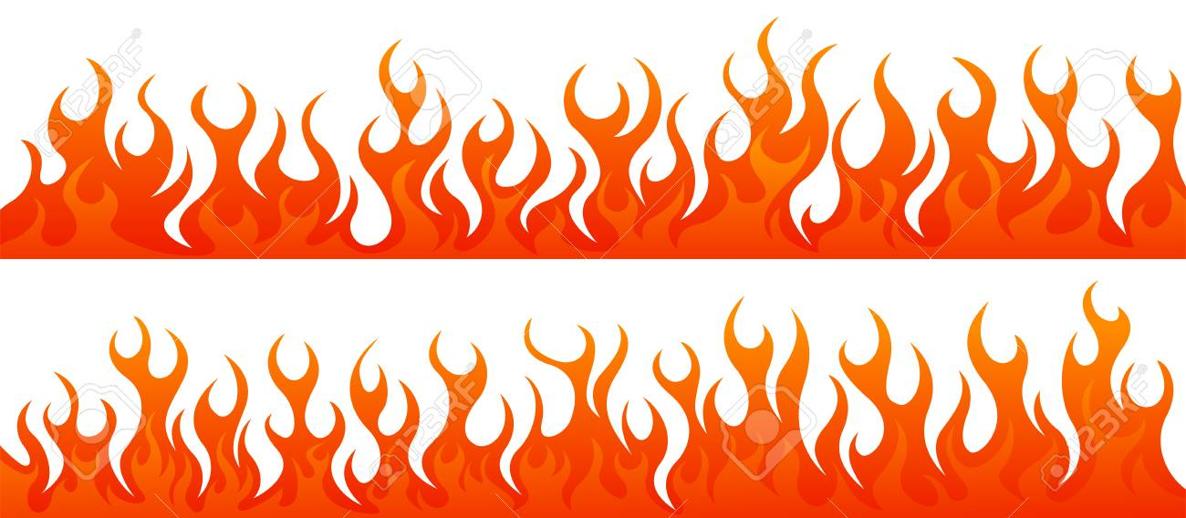 fire flames vector set royalty free cliparts vectors and stock rh 123rf com flame vector clipart flame vector free