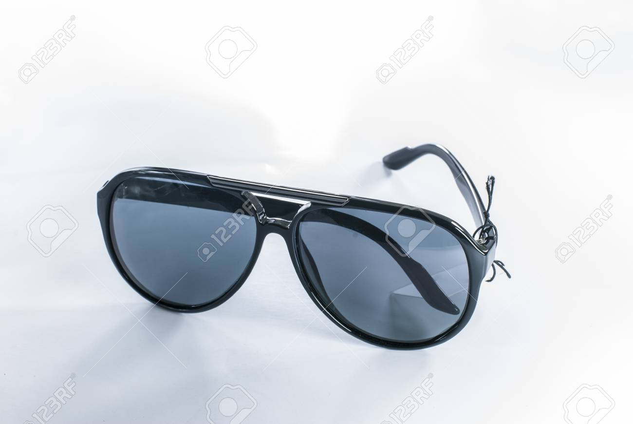 Sunglasses - Aviator Sunglasses - sunglasses isolated on a white background Stock Photo - 14325841