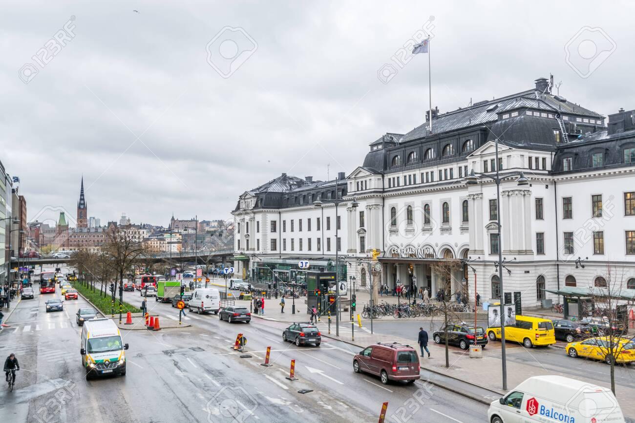 Webcam Stockholm Central Station