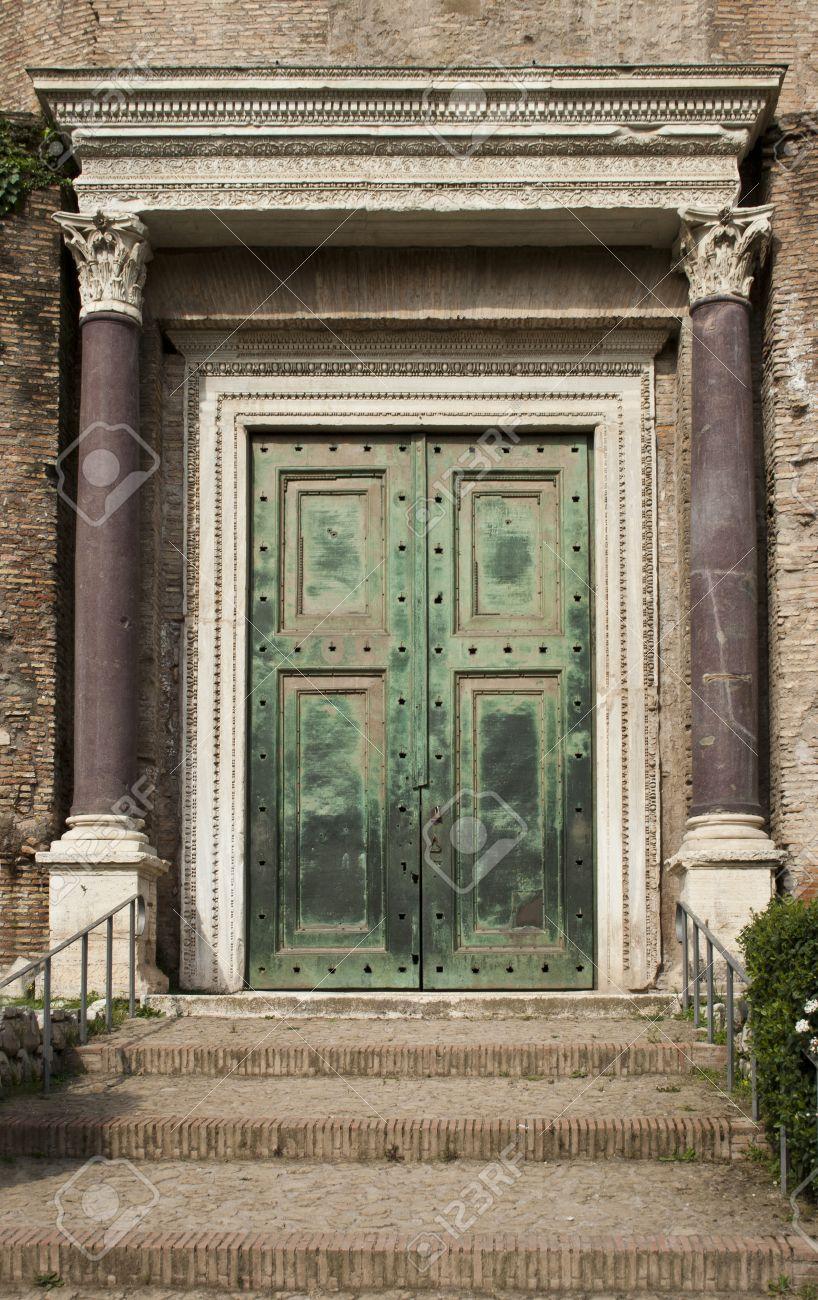 Ancient roman door & Ancient Roman Door Stock Photo Picture And Royalty Free Image ...