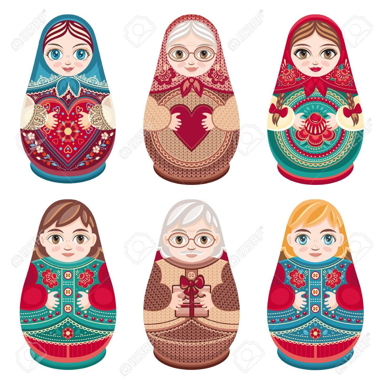 Russische babuschka
