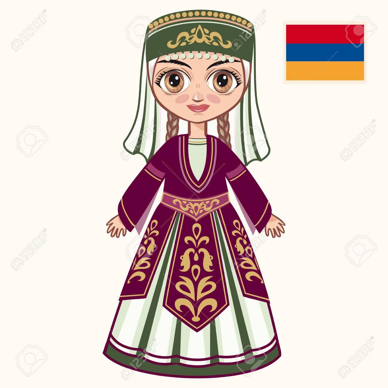 HistoriquesArménie Jeune Fille Robe La ArménienneVêtements En MzUVSp