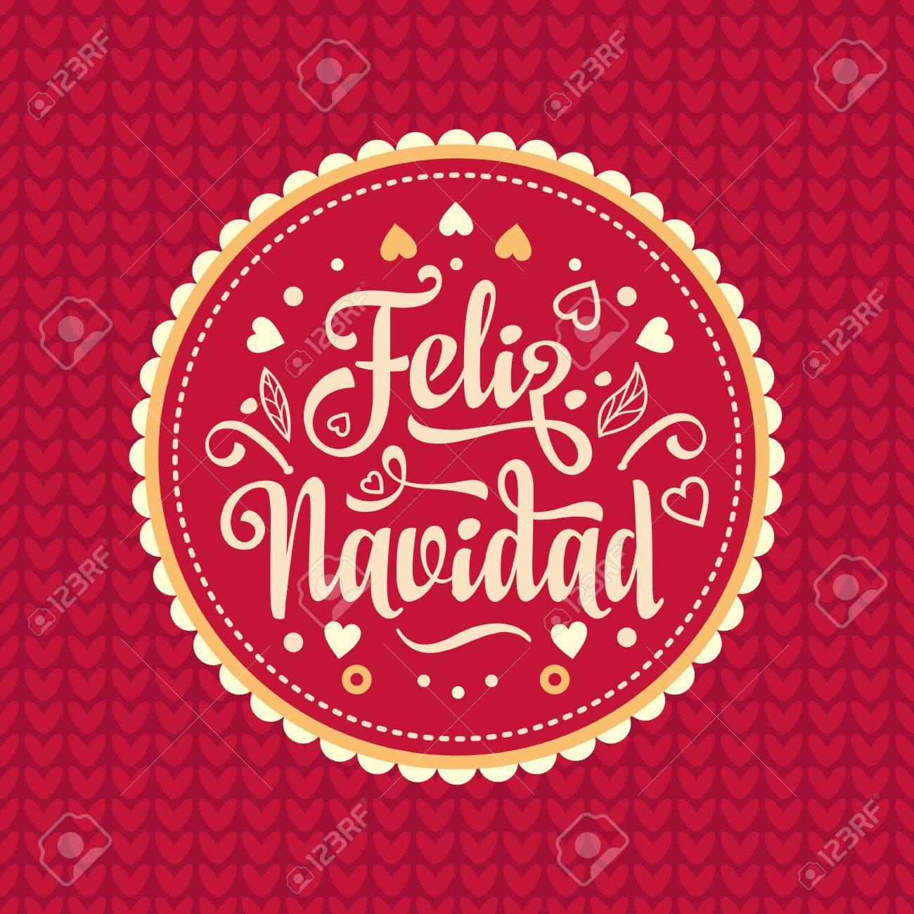 Deseos Para Feliz Navidad.Feliz Navidad Tarjeta De Navidad De La Lengua Espanola Mis Mejores Deseos Para Fiestas En Espana Traduccion Ingles Feliz Navidad