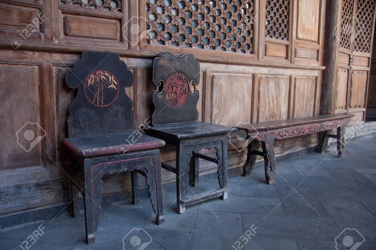 Sedie sgabelli heshun in tengchong county sud ovest della città